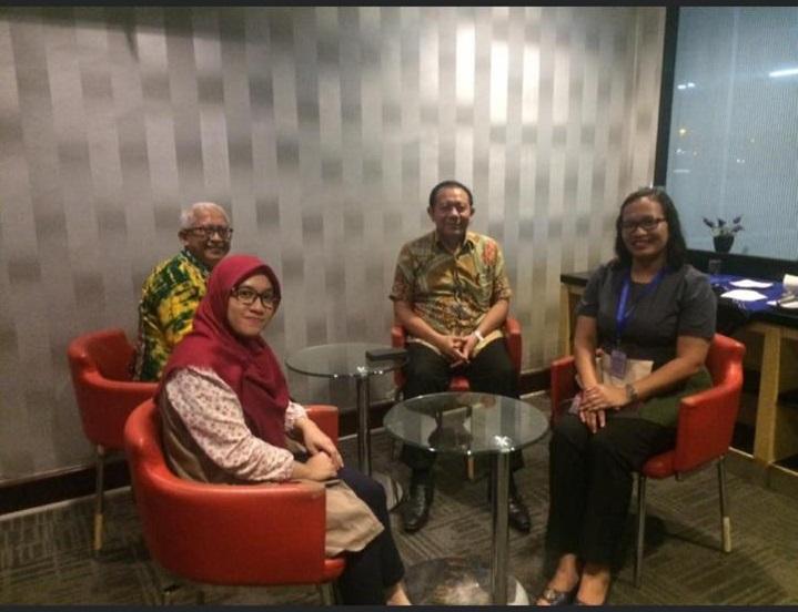 Dosen Prodi Teknik Industri UNISM bertemu dengan Ketua BKTI PII