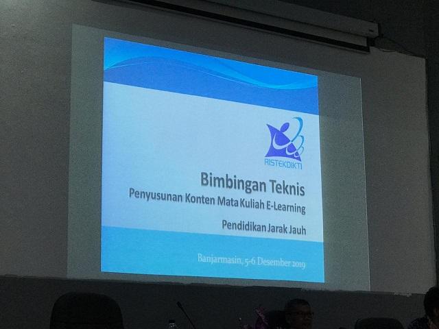 Dosen Teknik Industri UNISM terlibat dalam Bimbingan Teknis Pembelajaran E-Learning di LLDIKTI Wilayah XI