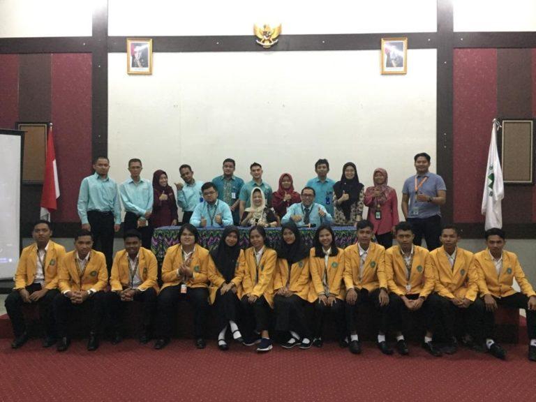 Mahasiswa Teknik Industri Universitas Sari Mulia mengikuti Orientasi ICD IPE IPC di Rumah Sakit Sari Mulia