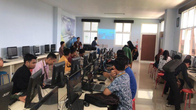 Mahasiswa Fakultas Sains dan Teknologi UNISM mengikuti Sosialisasi SIMAWA